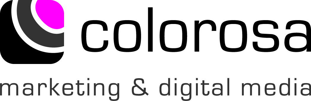 Logo colorosa marketing & digital media