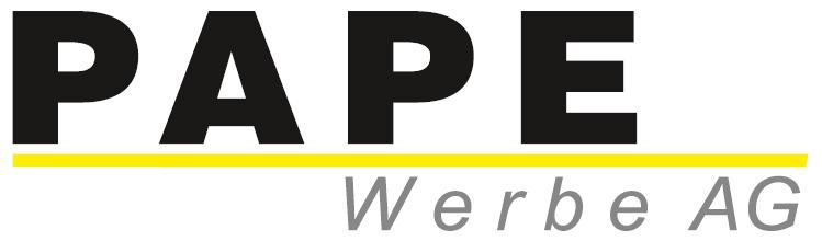 Logo Pape Werbe AG